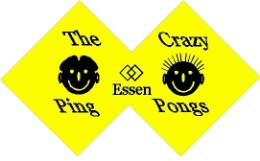 Club Badge der Crazy Ping Pongs